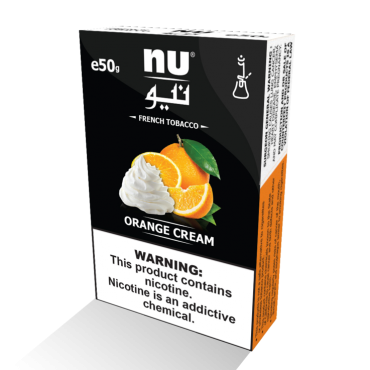 NU Orange cream shisha 50 grams